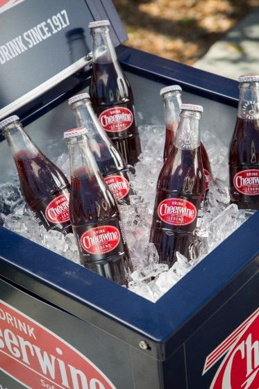 24 Cheerwine Glass Bottles