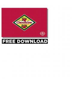 Cheerwine Diamond Logo Wallpaper