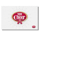 Cheerwine 100th Anniversary Wallpaper