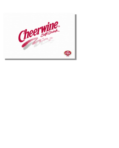 Cheerwine Retro Logo Wallpaper
