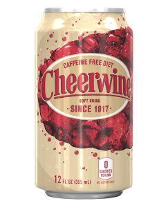 Diet Caffeine-Free Cheerwine 24-Pack Cans