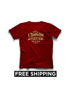 2019 Cheerwine Festival T-shirt