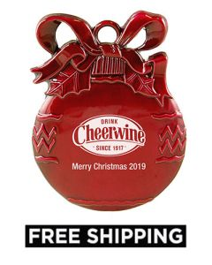 Cheerwine Ornament