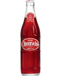 Cheerwine Glass Bottles 24-Pack