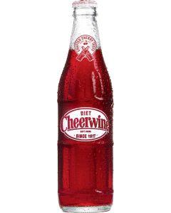 24 Diet Cheerwine Glass Bottles