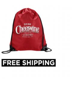 Cheerwine Drawstring Bag
