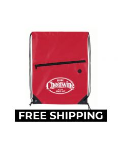 Cheerwine Drawstring Bag