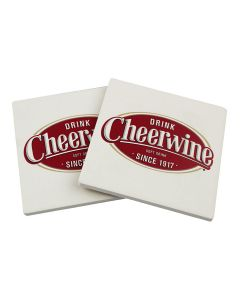 Cheerwine 2-Pack Coasters