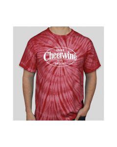 Cheerwine Red Tie-Dyed T-shirt