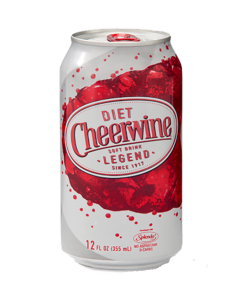 Diet Cheerwine 24-Pack Cans