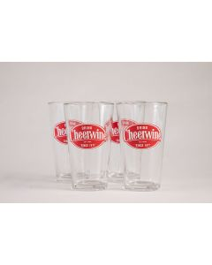 Cheerwine Glasses - Set of 4
