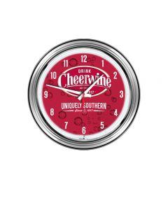 Cheerwine Neon Clock