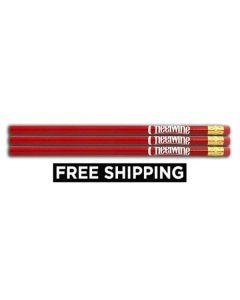 Set of 3 Cheerwine Pencils