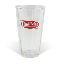 Cheerwine Vintage Glasses