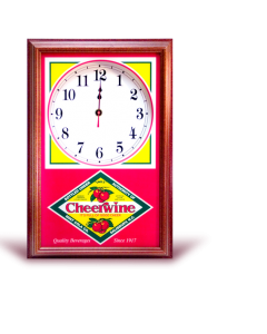 Cheerwine Vintage Clock