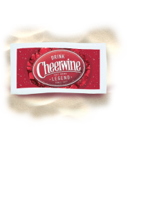 Cheerwine Beach Towel