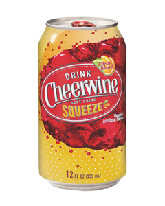 Cheerwine Squeeze 24-Pack Cans