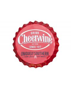 Uniquely Southern Red Bottle Cap